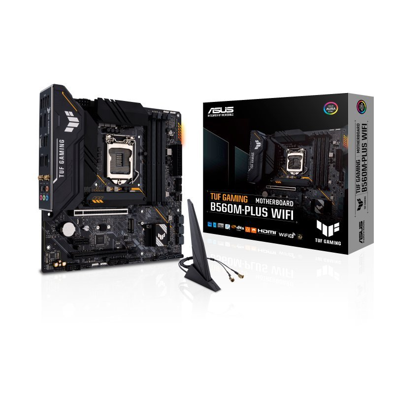 Placa Base Asus TUF GAMING B560M-PLUS WIFI mATX LGA 1200
