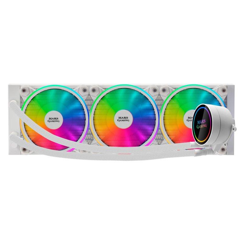 Refrigeración Líquida Mars Gaming ML360 Blanco