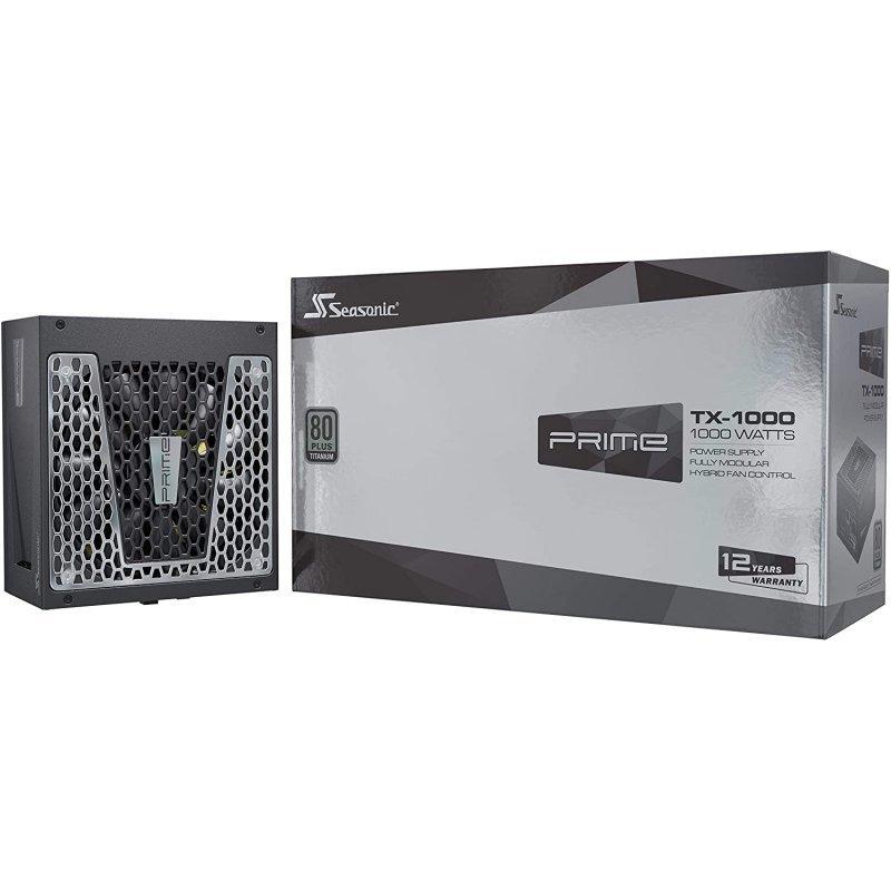 Fuente de alimentación Seasonic Prime TX-1000 1000W 80 Plus Titanium Modular