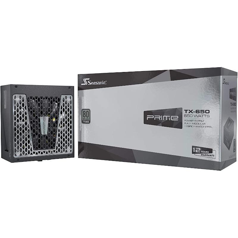 Fuente de alimentación Seasonic Prime TX 650W 80 Plus Titanium Modular