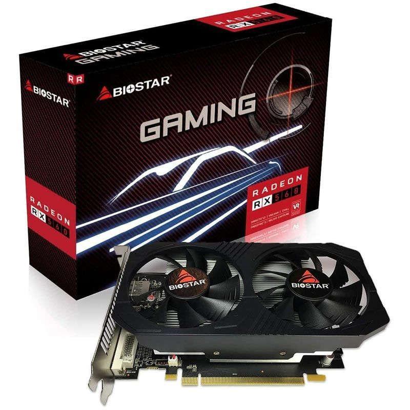 Tarjeta Gráfica Biostar Radeon RX560 4GB DDR5