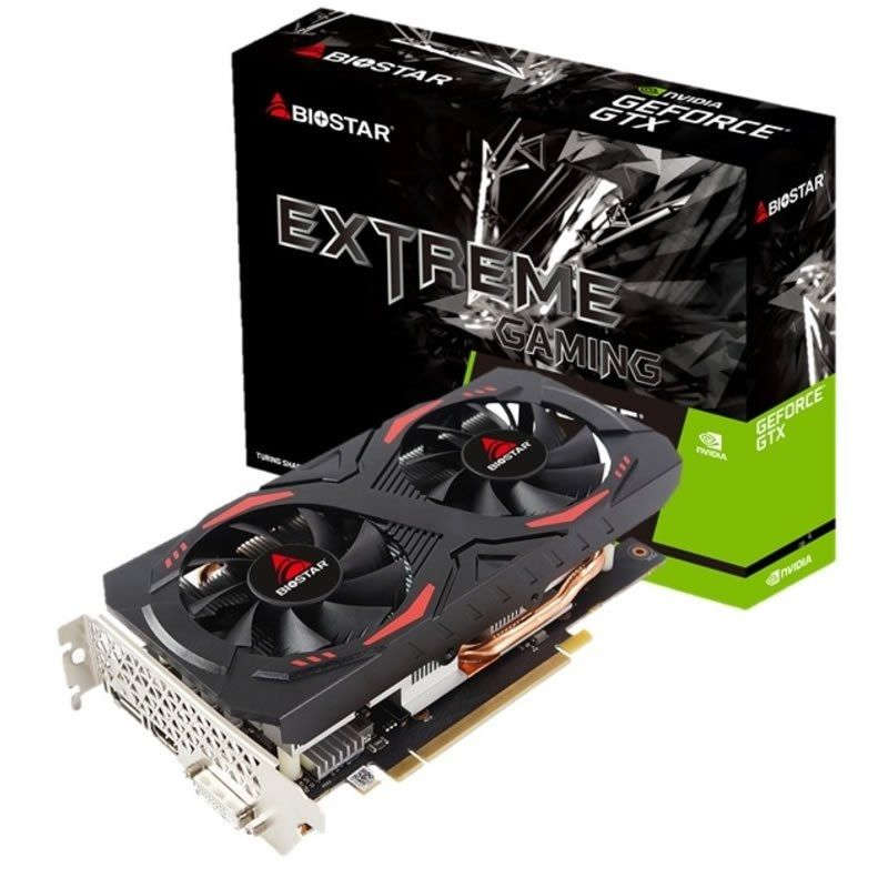 Tarjeta Gráfica Biostar GeForce GTX 1660 6GB DDR5