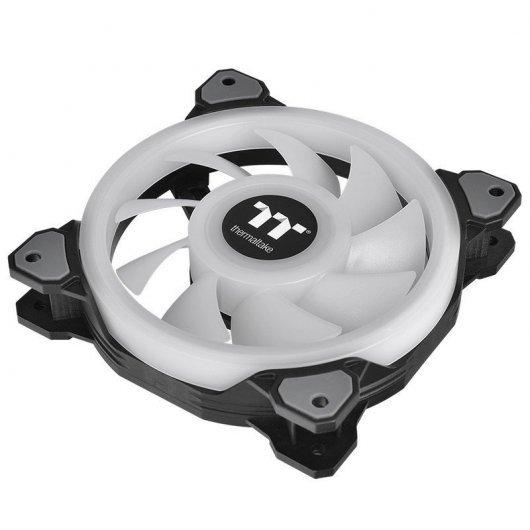 Ventilador Thermaltake Riing Quad 12 RGB 120mm (Pack de 3)