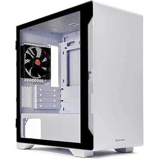 Caja PC Thermaltake S100 TG mATX Blanco