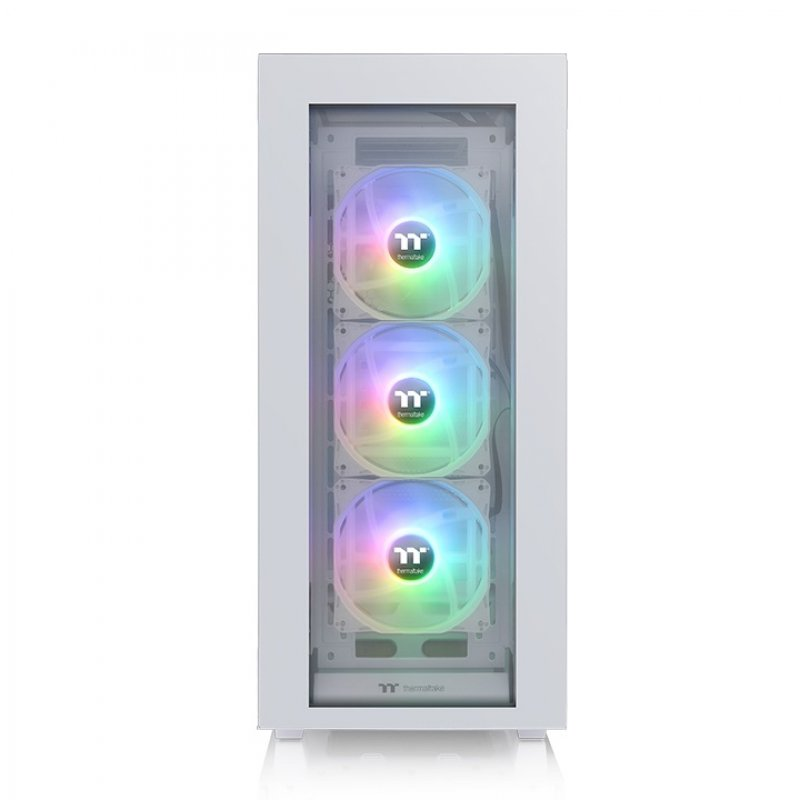 Caja PC Thermaltake Divider 500 TG Snow ATX ARGB Cristal Templado USB 3.1 Blanca