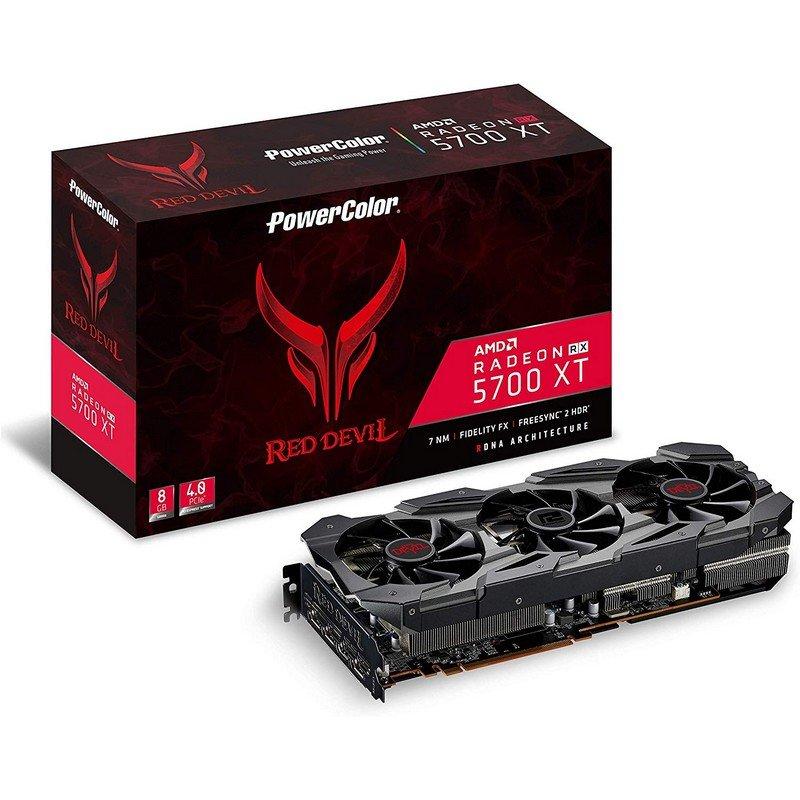 Tarjeta Gráfica PowerColor Red Evil RX 5700XT OC 8GB GDDR6