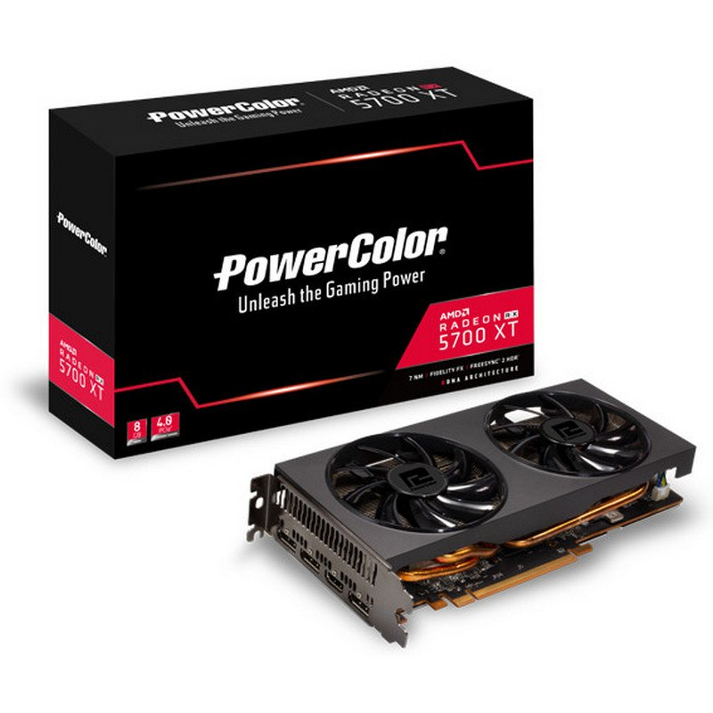 Tarjeta Gráfica PowerColor Radeon RX 5700XT 8GB GDDR6