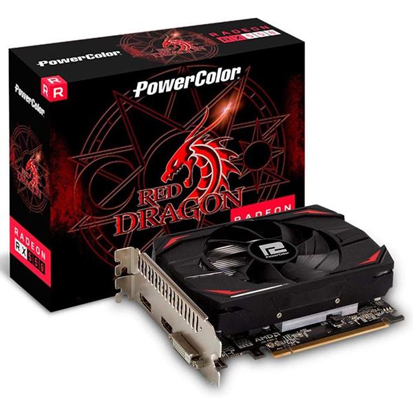 Tarjeta Gráfica PowerColor AXRX 550 4GBD5-DH Radeon RX 550 4GB GDDR5