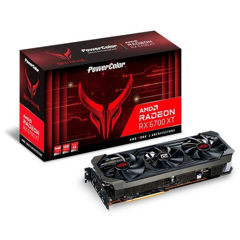 Tarjeta Gráfica PowerColor Red Devil AMD Radeon RX 6700 XT 12GB GDDR6