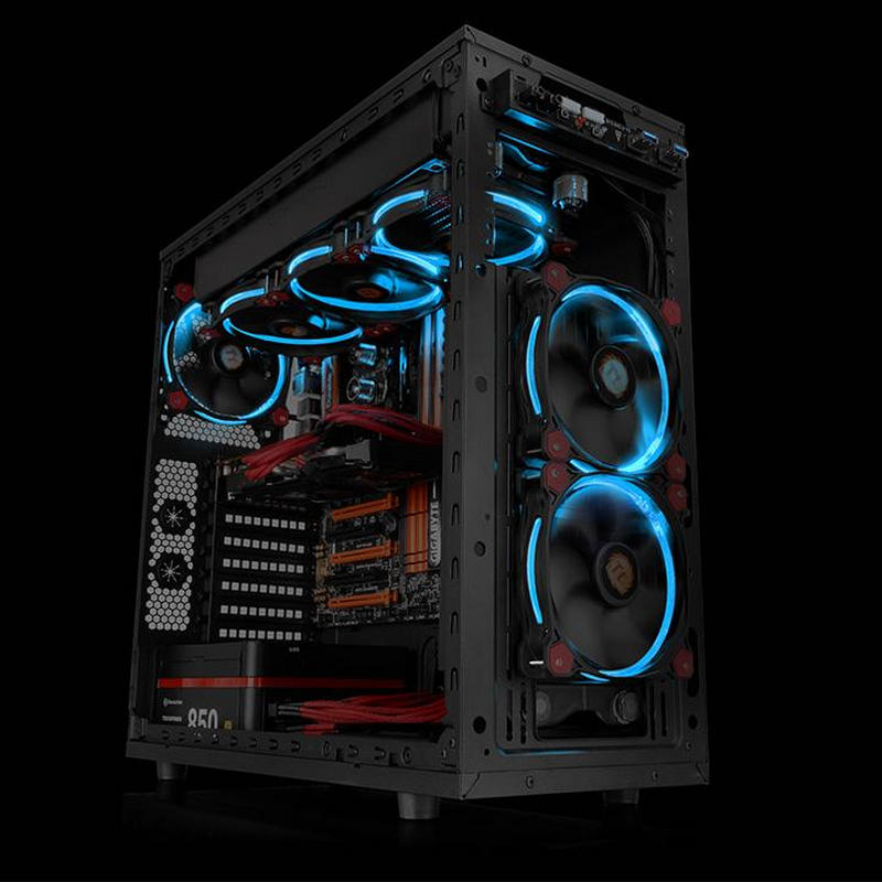 Ventilador PC Thermaltake Riing 12 LED Azul 120 mm