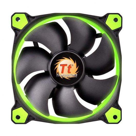 Ventilador Thermaltake Riing 14 LED 140 mm Verde
