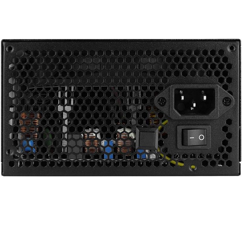 Fuente de Alimentación Semi-Modular Aerocool LUX 650M RGB 650W 80 Plus Bronze