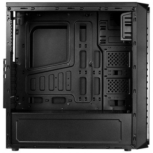 Caja PC Aerocool SI-5200 Frost RGB con Ventana Negro