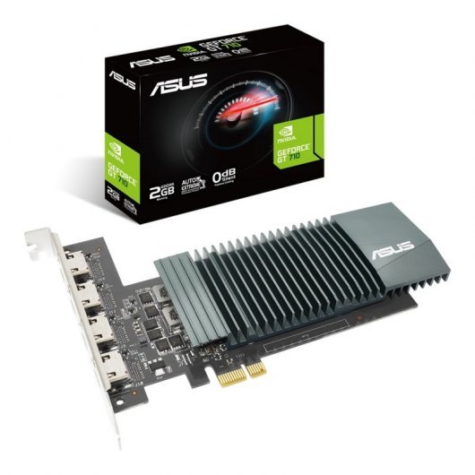 Tarjeta Gráfica Nvidia Asus GT 710-4H-SL-2GD5 2GB DDR5
