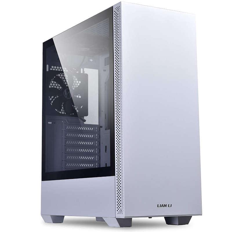 Caja PC ATX Lian Li LanCool 205 con Cristal Templado Blanco