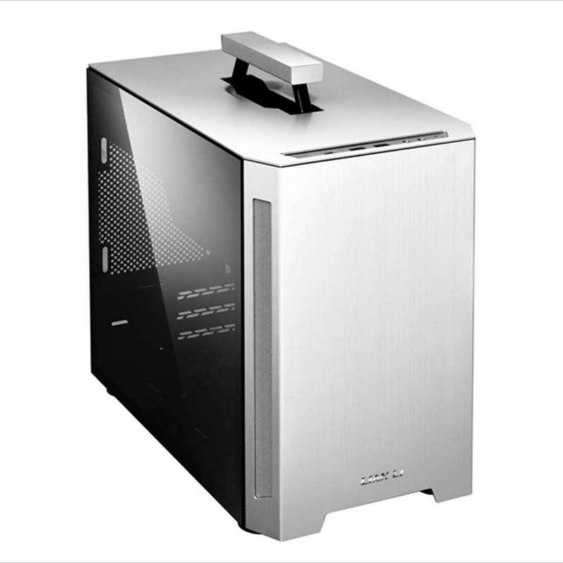 Caja PC Lian Li TU150 mITX Cristal Templado USB 3.0 Plata