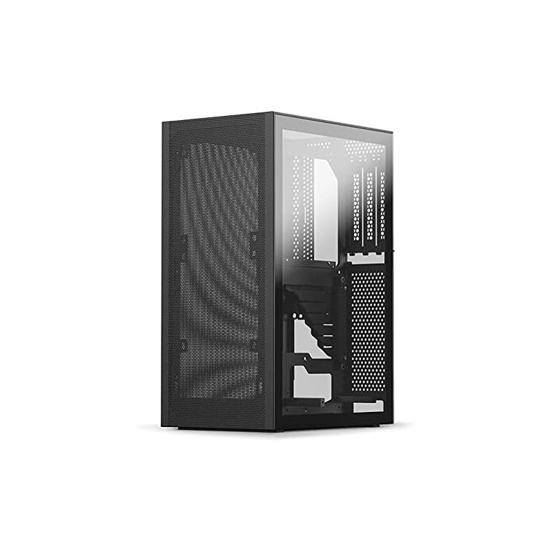 Caja PC Ssupd Meshlicious Mini-ITX Cristal Templado Negro