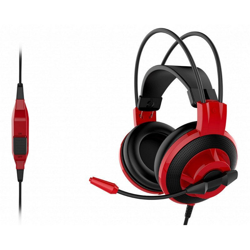 Auriculares Gaming MSI DS501 Rojo