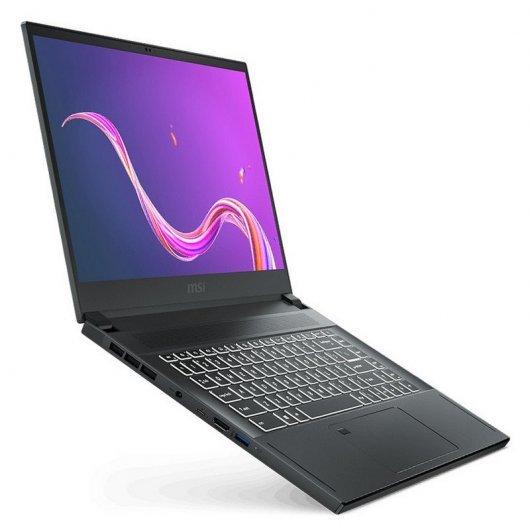 Portátil MSI Creator 15-065ES i7-10750H 1TB SSD 32GB W10 15.6\