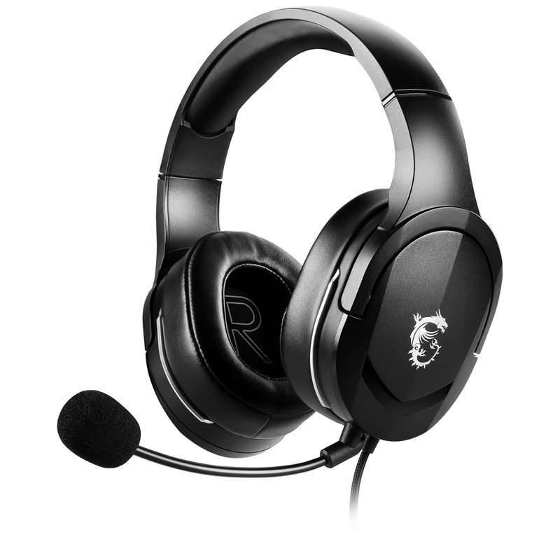 Auriculares Gaming MSI Immerse GH20 Negro