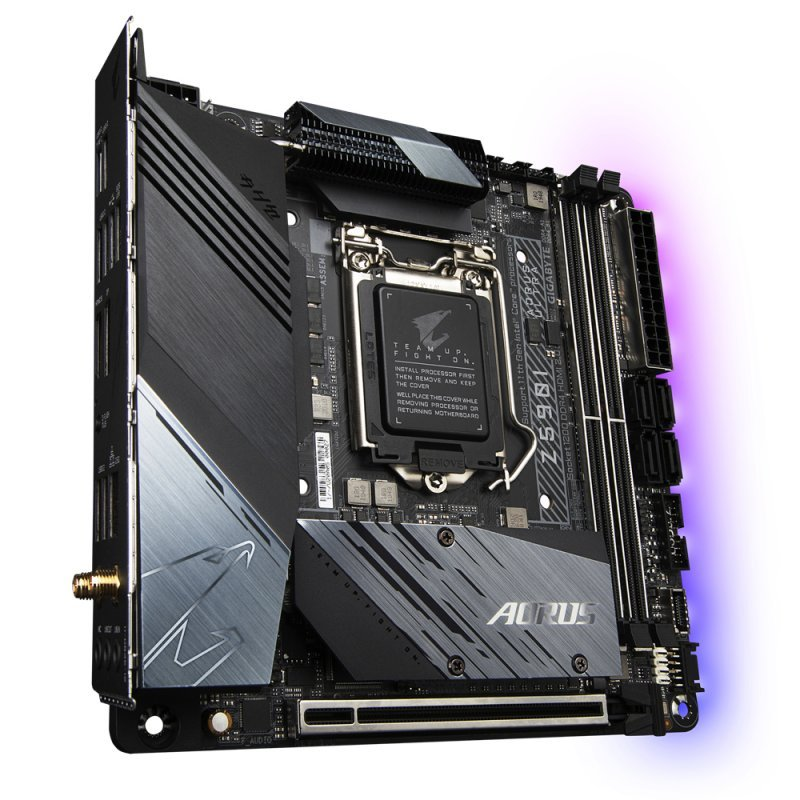 Placa Base Gigabyte Z590I AORUS ULTRA Mini ITX LGA 1200