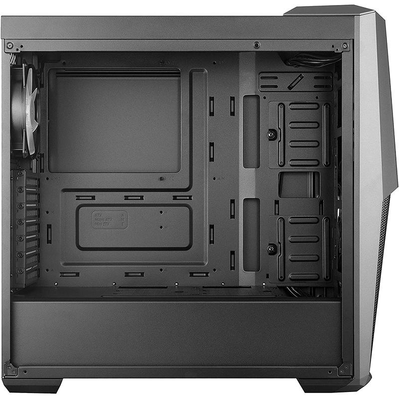 Caja PC Cooler Master MB500 ATX Cristal Templado Negro