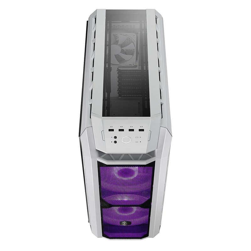 Caja PC Cooler Master H500P Mesh EATX ARGB Blanco Cristal Templado USB 3.2