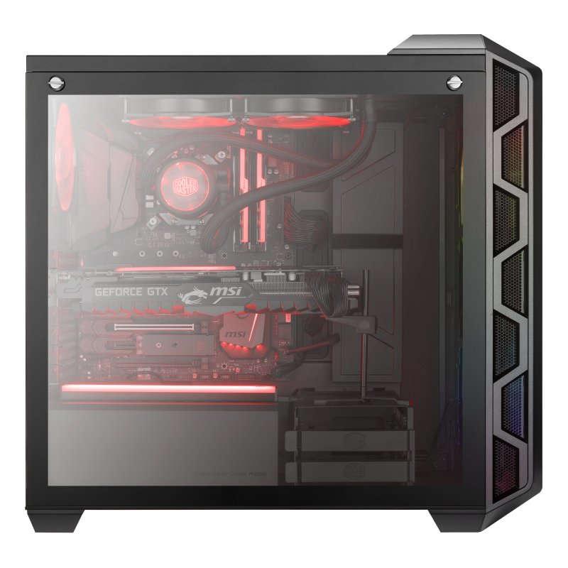 Caja PC Cooler Master MasterCase H500 EATX ARGB Cristal Templado USB 3.0 Gris