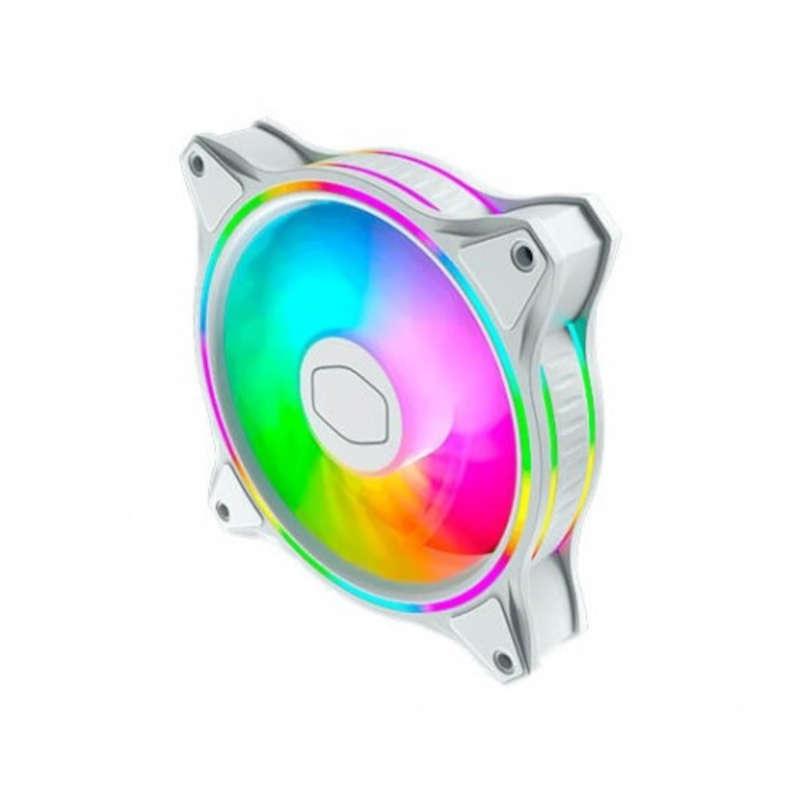 Ventilador PC CoolerMaster MF120 Halo ARGB 120mm Blanco