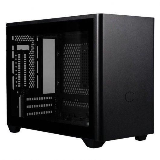 Caja PC Cooler Master MasterBox NR200P mITX Cristal Templado Negro