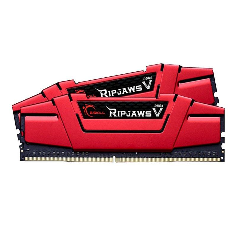 Kit Memoria G.Skill Ripjaws V Red 32GB DDR4 2666MHz (2x16GB)
