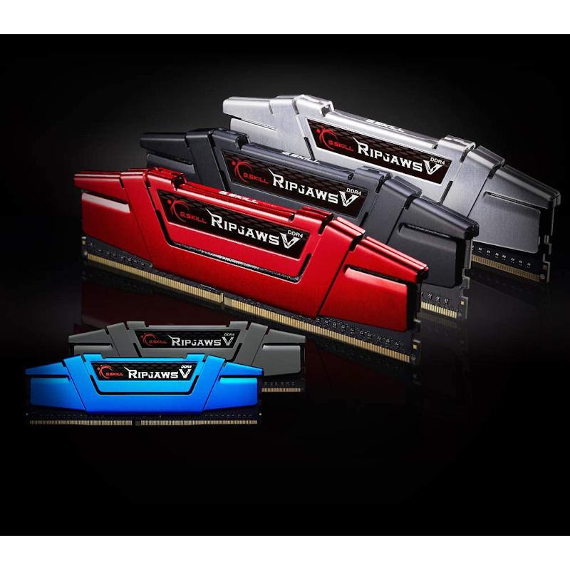 Kit Memoria G.SKILL Ripjaws V 16GB DDR4 3000MHz CL15-15-15-35 Rojo (2x8GB)