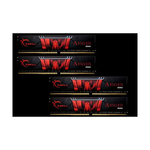 Memoria RAM G.Skill AEGIS 64gb (4X16GB) DDR4-2400 CL15
