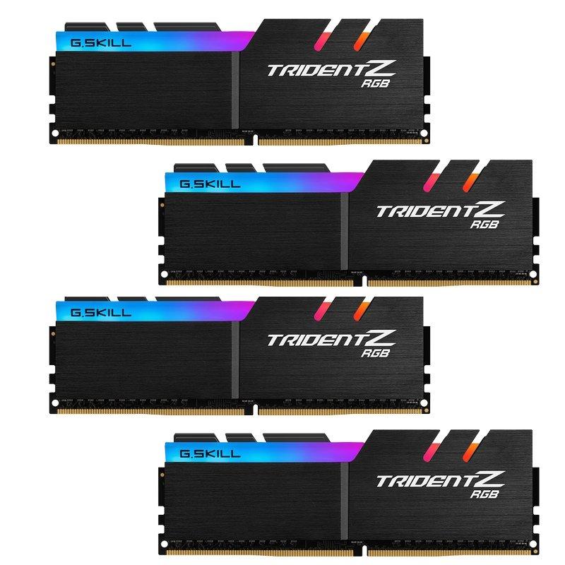 Kit Memoria G.Skill Trident Z RGB 64GB DDR4 3600MHz CL17 (4x16GB)