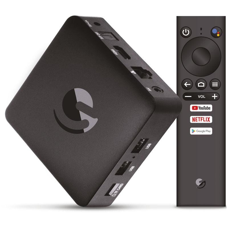 SmartTV / TV Box Engel EN1015K - Android TV / Chromecast / Google Assistant