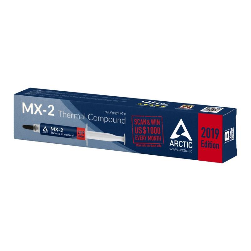 Pasta Térmica Arctic MX-2 2019 65gr