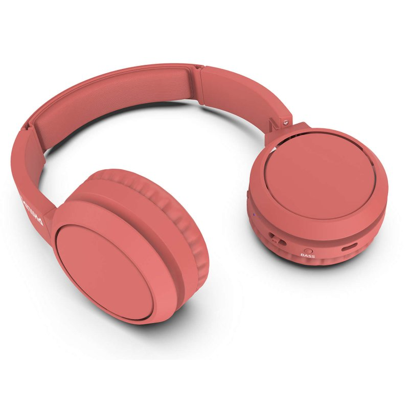 Auriculares Philips TAH4205RD/00 Inalámbricos Bluetooth Rojos