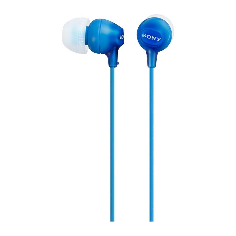 Auriculares con Micrófono Sony MDR-EX15AP Azul