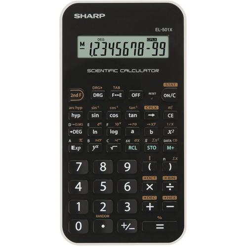 Calculadora de Bolsillo Sharp SH-EL501XWH - 10 Dígitos