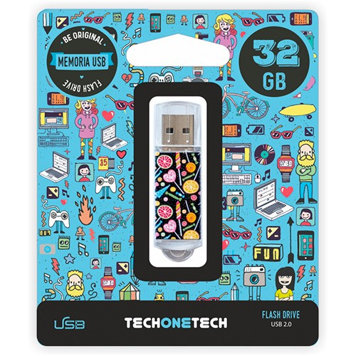 Pendrive 32GB Tech1Tech TEC4001-32 Candy Pop