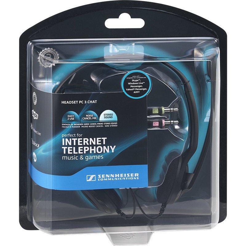 Auriculares con Micrófono Sennheiser PC 3 CHAT