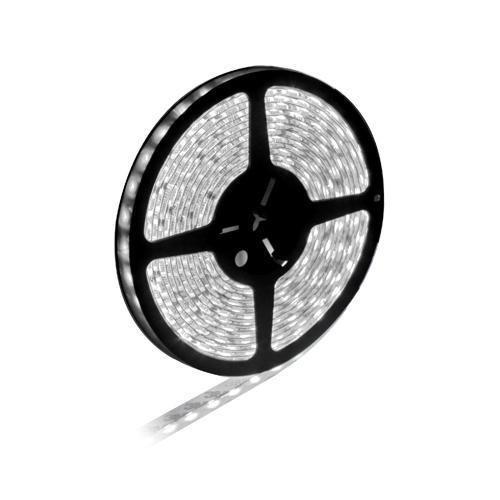 Tira LED Impermeable 12V 60 LED/9.6W x Metro - Blanco (5m)