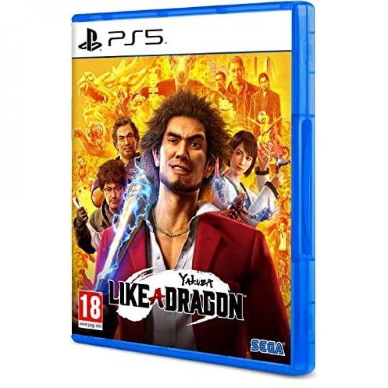 PS5 Juego Yakuza Like a Dragon