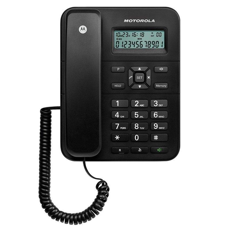 Teléfono FIjo Motorola CT202 Negro