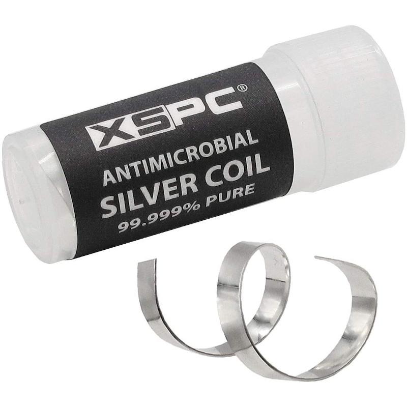 XSPC Antimicrobial Fine Silver Coil 99.999% Pure para circuito de refrigeración.