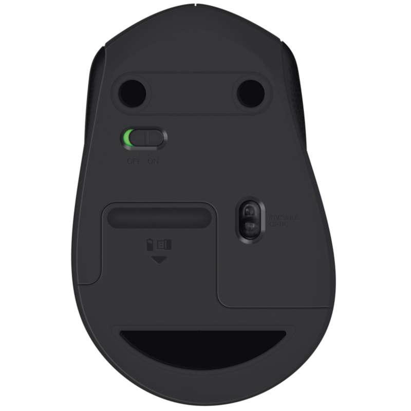 Ratón Inalámbrico Logitech M330 Silent Plus 1000DPI Negro
