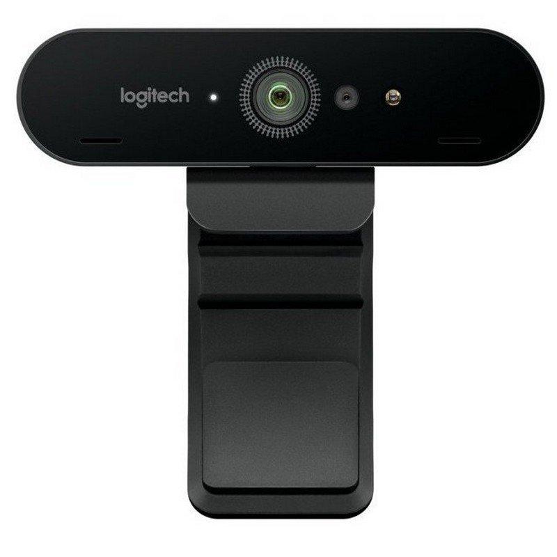 Webcam UltraHD Logitech Brio Negro
