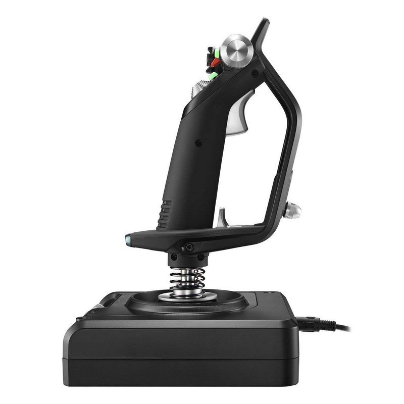 Controlador Simulador de Vuelo Logitech G Saitek X52 Pro