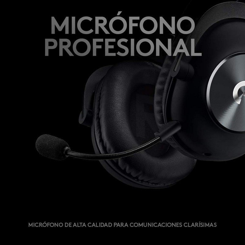 Auriculares Gaming Logitech G Pro Negro