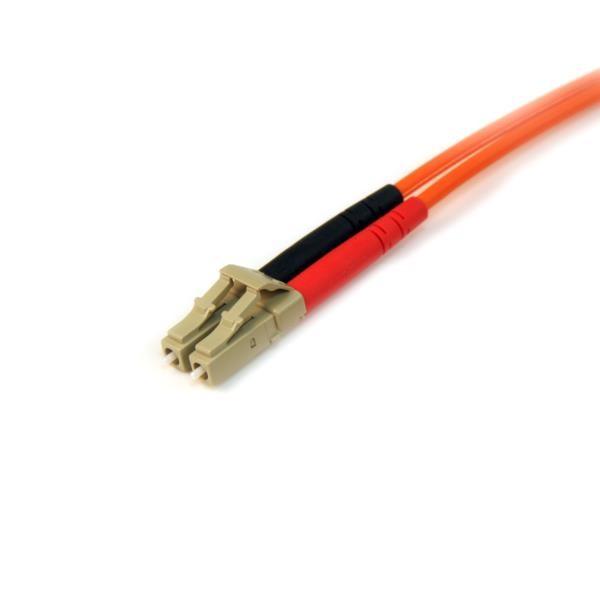 Cable 10M Patch de Fibra Duplex Multimodo 50/125 LC a LC